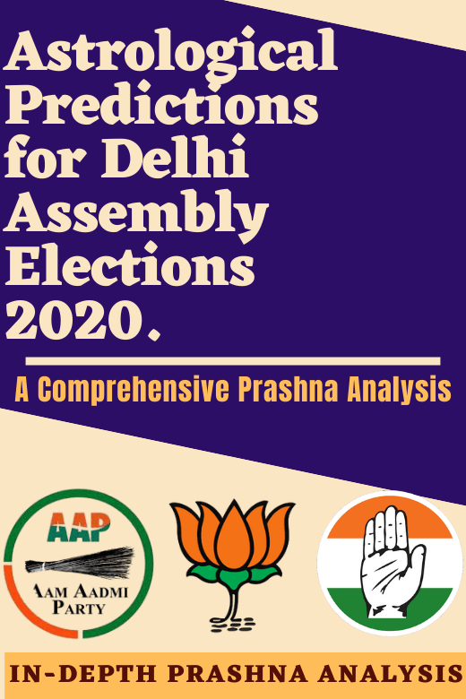 ASTROLOGICAL PREDICTIONS DELHI ASSEMBLY ELECTION 2020