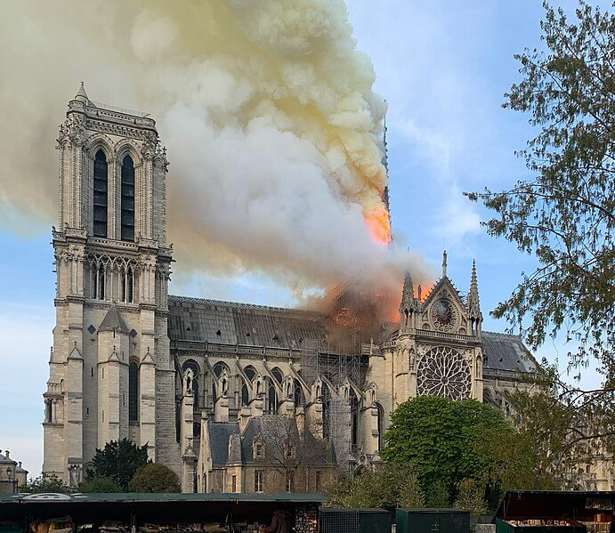 Notre Dame Fire DETAILED HOROSCOPE CASE STUDY 2