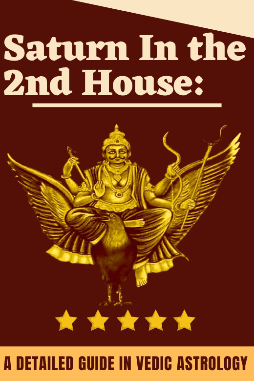 SATURN IN THE 2ND HOUSE