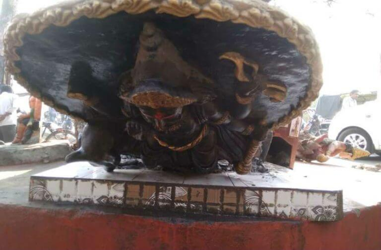 Tensions in Gorakhpur after more than 12 idols were found damaged. 2 1